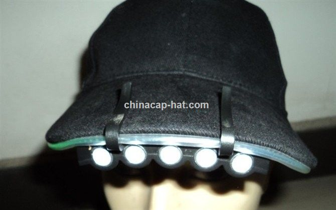LED embroidery baseball cap