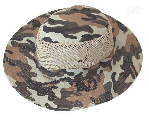 4e8faea062bac Ocio al aire libre tapas tapas de camuflaje subred pescador sombrero