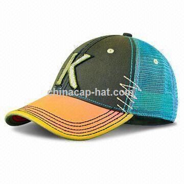 Youth Baseball Cap with Detachable Crown