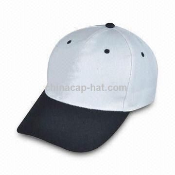 promotional 100 acrylic baseball cap with 6 panels and