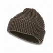 Knitted Beanie Hat with Jacquard Logo Printing