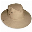 Cotton Twill Cowboy Hat with Mesh Metal Airhole