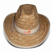 Cowboy Straw Hat with Logo Printing