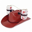 Funny Cowboy Beer Hat with Beverage Helmet