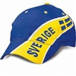 Light-brushed Cotton Twill Sports Cap with Printed Design