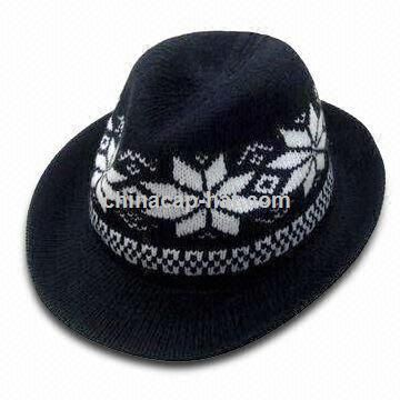 Lovely Appearance Knitted Fedora Hat