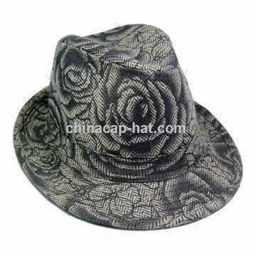 Womens Fashionable Fedora Hat
