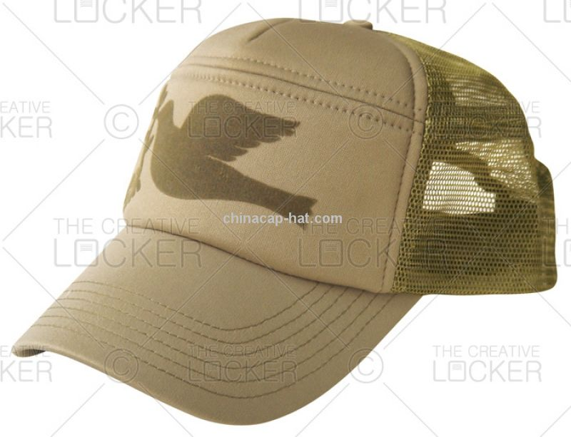 Brandable Military Style Truckers Cap