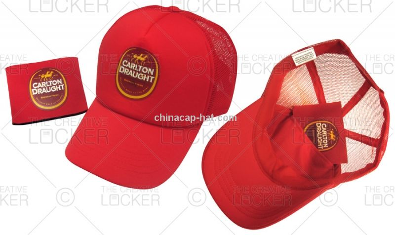 Branded Event Foam Front Trucker Cap With Mini Cooler