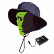 Battery-powered Heated Electric Fishing Hat, Heat Up at Ear Position During Fishing Outdoor