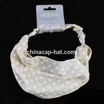 Fashion Bandana with Various Accessories,Colors,Styles, Customized Specifications are Accepted