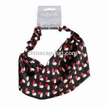 Fashionable Bandana with Various Accessories,Colors,Styles, Customized Specifications are Accepted