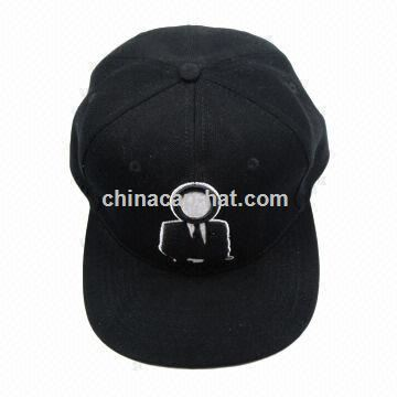 Flat Visor Snapback Cap for Sports and Advertisement
