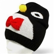Knitted Winter Hat with Cartoon Shape, Made of Acrylic Material, Suitable for Ladies and Children