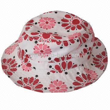 Women's Hat,Fashionable Bucket,Sun,Fishing Hat, Promotional Large-brimmed Hat, Full Printed