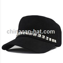 Black and White Checked Cap Army Caps or Military Caps