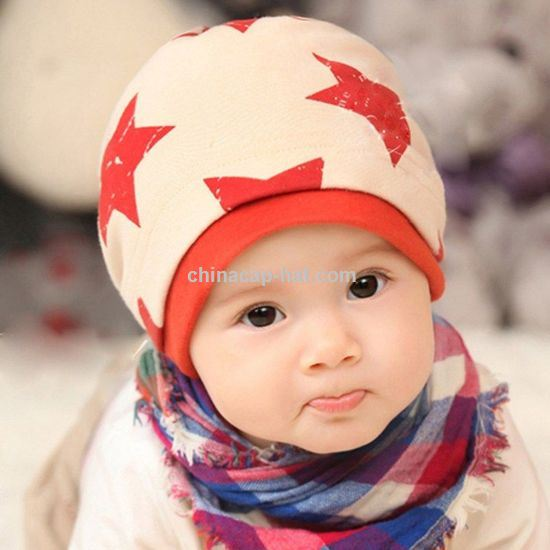 Cheap Bamboo Cotton Printed Baby Hat Wholesale