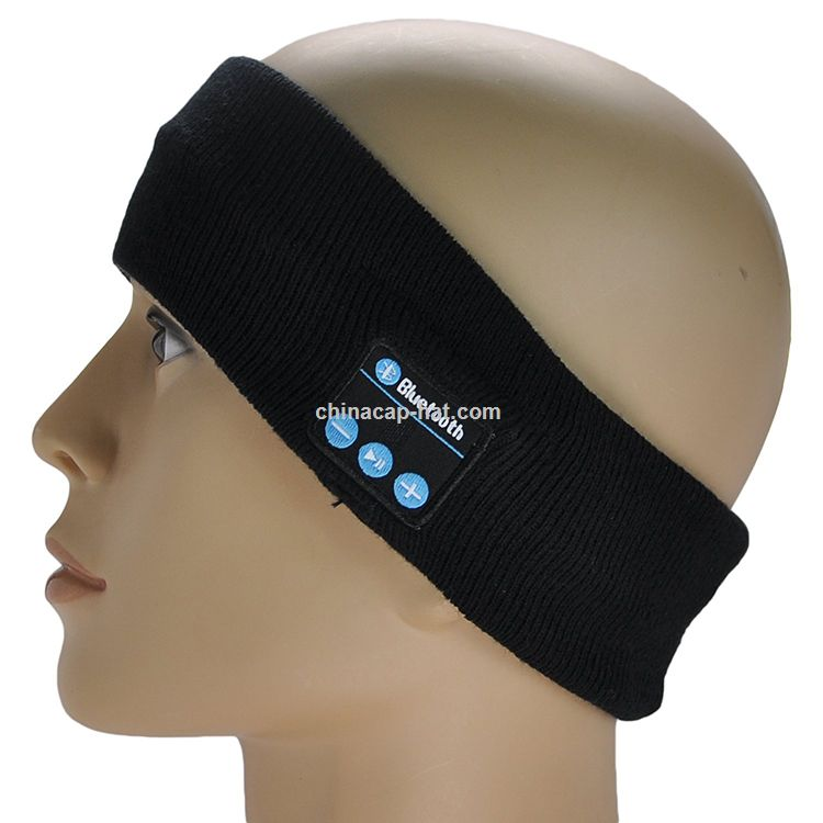 Wireless Bluetooth Headset Sleep Headset Sports Headband with Mic